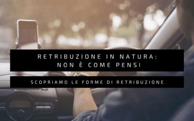 Retribuzione in natura: non è come pensi