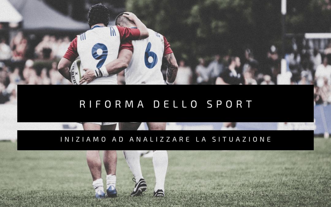 Riforma dello Sport: cosa prevede ?